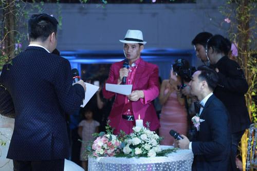 """Xuân Bắc, Tự Long """"náo loạn"""" tiệc cưới của MC Thành Trung - 2"""