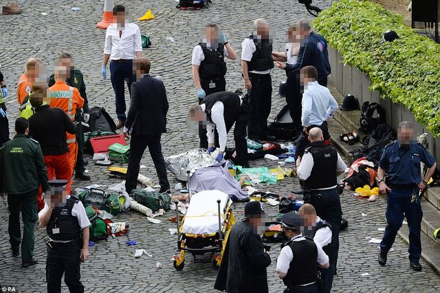 Tấn công khủng bố đẫm máu chấn động thủ đô Anh - 1