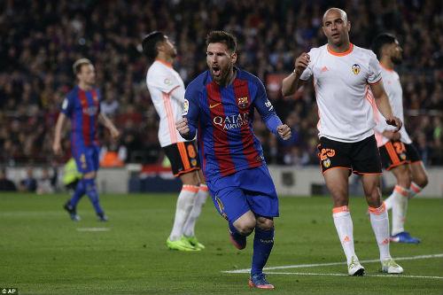 """Đua với Real, Barca - Messi dùng chiêu """"cáo già"""" - 1"""