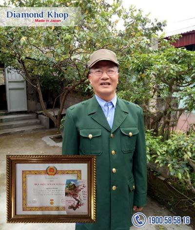 Chiến sĩ 30 năm tuổi Đảng chiến thắng đau khớp với sản phẩm khớp Nhật - 1