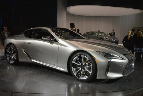 Lexus LC 500 2018 chốt giá từ 2,1 tỷ đồng - 5