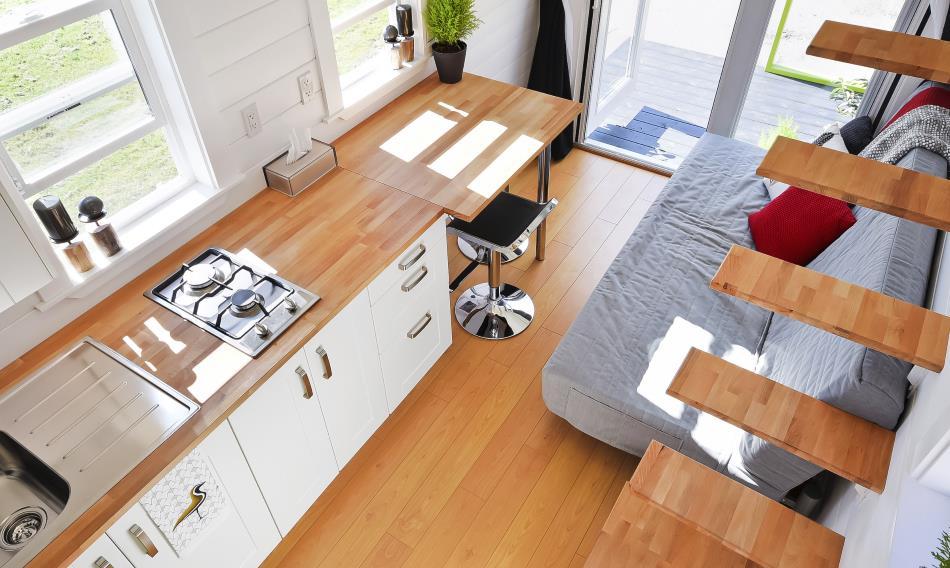 Đi khắp thế gian với nhà di động 28 m2 siêu đẹp - 7