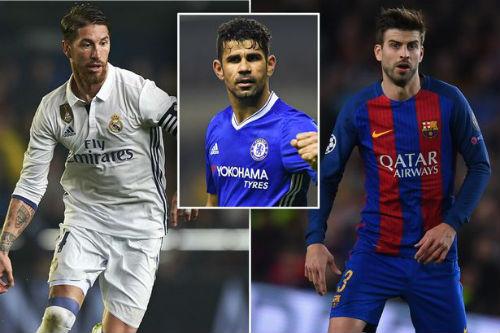 """Chelsea: Costa lên tuyển, """"đong đưa"""" cả Real & Barca - 1"""