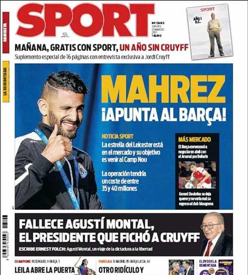 Barca: SAO Leicester 35 triệu bảng sẽ kế tục Messi - 1