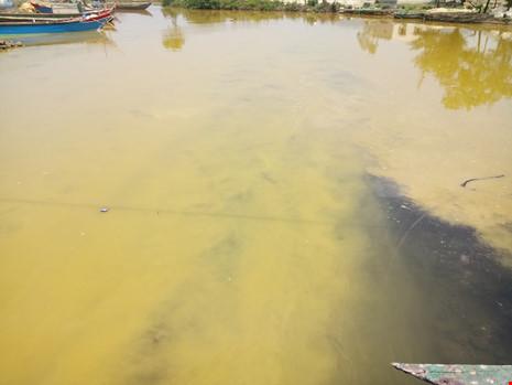 Xuất hiện dải nước màu vàng gây ngứa tại cảng Chân Mây - 2