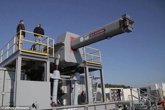Xem siêu súng điện từ gấp 6 lần âm thanh của Mỹ khai hỏa - 2