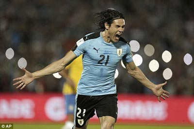 Chi tiết Uruguay – Brazil: Paulinho thăng hoa (KT) - 3