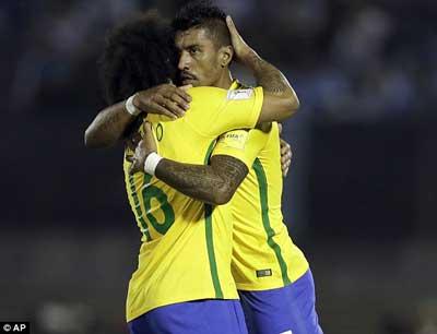 Chi tiết Uruguay – Brazil: Paulinho thăng hoa (KT) - 5