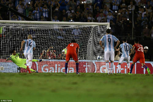 Argentina - Chile: Messi và mối hận khó quên - 1