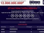 """Xổ số Vietlott tìm ra """"tỉ phú"""" thứ 21 với jackpot """"khủng"""""""