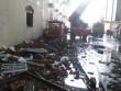 Cảnh tan hoang sau vụ cháy công ty may ở Cần Thơ