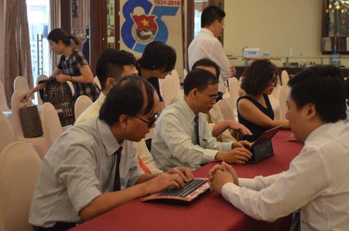 """Dự án """"dạy tin học cho người mù"""" tại TP. HCM - 2"""