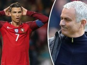 Mourinho vạ miệng: Rủa Ronaldo và ĐT Bồ Đào Nha