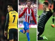 """Bóng đá - """"Bom tấn"""" chuyển nhượng hè 2017: Dự có Hazard, Sanchez"""