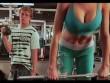 """Lộ diện những hình ảnh """"khó tin"""" ở trong phòng gym"""