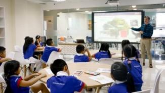 Trải nghiệm giáo dục chuẩn mỹ trong buổi học tiếng anh theo mô hình English+²¹