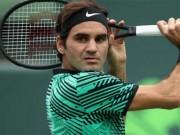 Tin thể thao HOT 28/3: Federer nhảy 12 bậc trong 2 tháng rưỡi