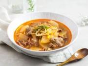 Ẩm thực - Lạ miệng với súp bò cay kiểu Hàn thơm ngon đúng điệu