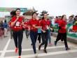 HH Ngọc Hân - Thanh Tú tranh tài trên đường đua giải Việt dã Tiền Phong 2017