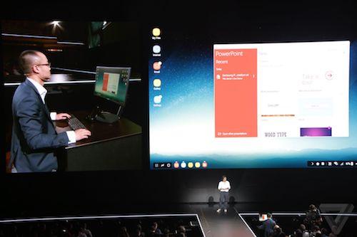 """Samsung Dex Station: Thiết bị """"hô biến"""" Galaxy S8 thành PC - 2"""