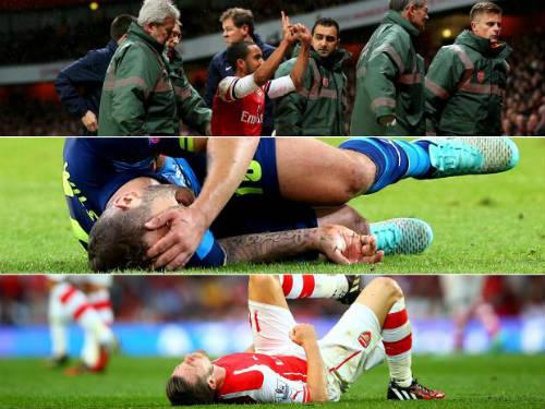 Kỷ lục chấn thương giải Ngoại hạng Anh: Arsenal vô đối - 1