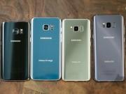"""Samsung Galaxy S8, S8 Plus so kè Galaxy S7, S7 Edge: Bước """"nhảy vọt"""" lớn"""