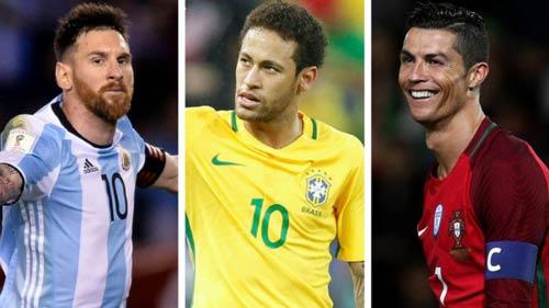 Ý tưởng lạ: Ronaldo đấu Messi, Neymar ở Copa America - 1