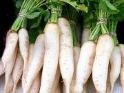 Sức khỏe đời sống - Ăn củ cải bạn đừng quên những điều này?