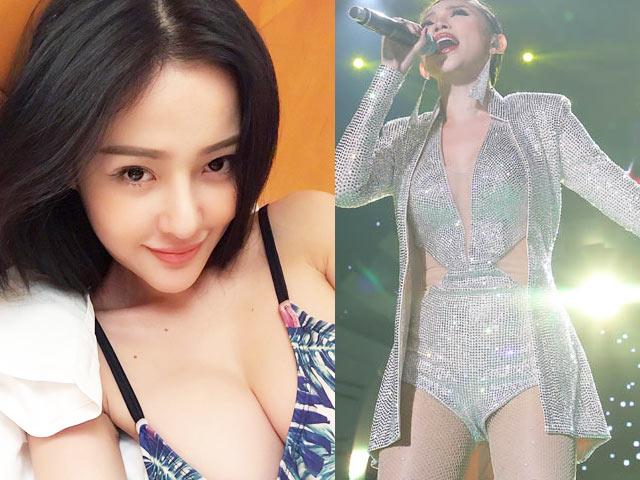 Hương Tràm, Tóc Tiên, Ngân 98 mặc sexy đón năm mới