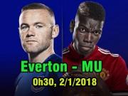 Everton - MU: Gặp lại cố nhân, tân niên gian khó