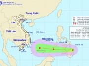 Áp thấp nhiệt đới khả năng mạnh thành bão hướng vào Biển Đông
