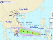 Đêm nay, cơn bão đầu tiên năm 2018 đi vào Biển Đông
