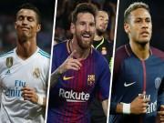 """Tin HOT bóng đá tối 2/1: Messi, Ronaldo  """" mất hút """"  ở đội hình tiêu biểu lượt đi"""
