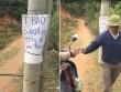 Chuyện lạ: Dân tự lập BOT ở bờ ao, thu phí xe máy đi qua