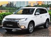 Mitsubishi Outlander 2018 có giá từ 808 triệu đồng tại Việt Nam