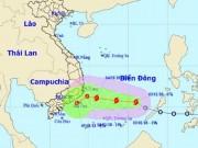Cơn bão đầu tiên năm 2018 chính thức hoành hành trên Biển Đông