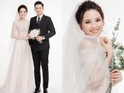 Ảnh cưới của người đẹp Hoa hậu Việt Nam cùng hot boy cảnh sát
