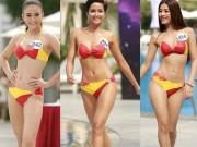Cận cảnh màn thi bikini của các thí sinh nóng bỏng nhất Hoa hậu Hoàn vũ VN