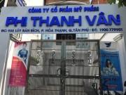 Tạm đình chỉ xưởng sản xuất mỹ phẩm Phi Thanh Vân
