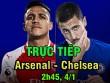 Chi tiết Arsenal - Chelsea: Vô-lê gỡ hòa 90+2 (KT)
