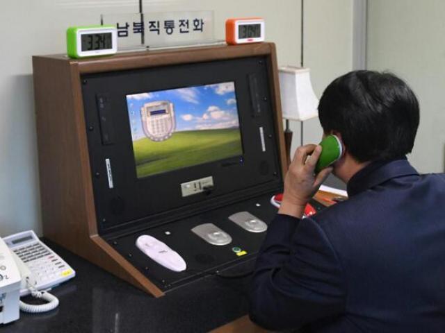 Đột nhập nơi đặt đường dây nóng bí ẩn giữa Triều Tiên và HQ