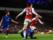 """Bóng đá - Arsenal thoát thua Chelsea: Wenger bực trọng tài, Conte """"phát điên"""" vì Morata"""