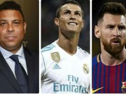"""Rô béo chê Ronaldo và Messi 10 Bóng Vàng:  """" Thời của tôi thì đừng mơ """""""
