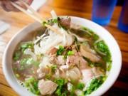 Ẩm thực - 10 món ăn phải thử trên thế giới trong đó có phở Việt Nam