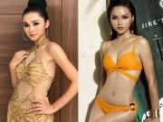 """Hoa hậu Hoàn vũ: Người đẹp Hà Nội nói gì sau vụ đá váy  """" dằn mặt """" ?"""