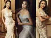 Thời trang - Top 45 Hoa hậu Hoàn vũ gây chú ý với ảnh trang phục dạ hội