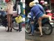 Thảm họa thời trang Việt: Chị em mặc tất, không quần