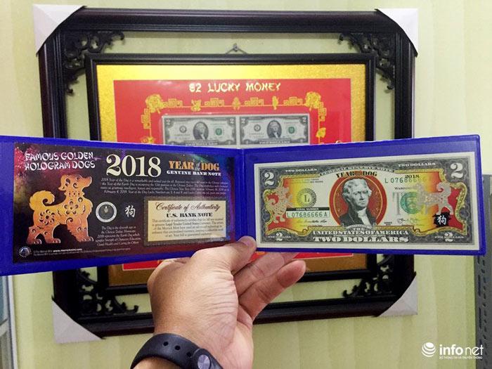 """Đua nhau """"săn"""" tiền lưu niệm hình linh vật Xuân Mậu Tuất 2018 - 1"""