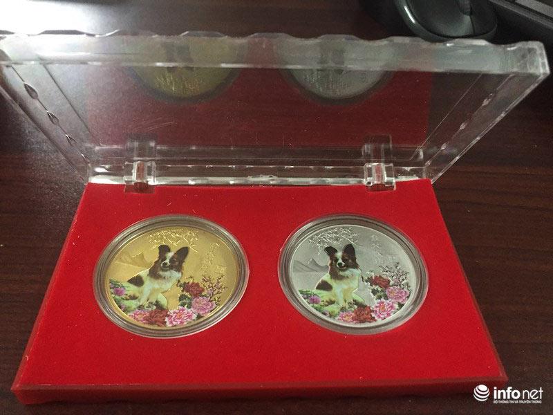 """Đua nhau """"săn"""" tiền lưu niệm hình linh vật Xuân Mậu Tuất 2018 - 11"""