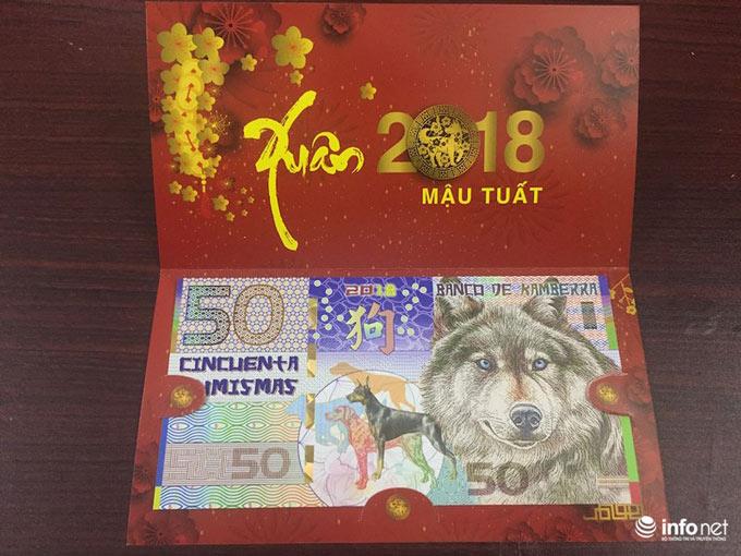"""Đua nhau """"săn"""" tiền lưu niệm hình linh vật Xuân Mậu Tuất 2018 - 4"""